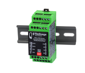 C07 MBus 200 to RS232/RS485/Slave Converter 1kV DC Isolation