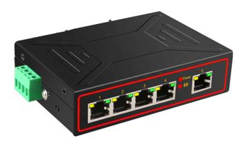 S01 Switch 5 portów Ethernet 10/100/1000MB RJ45 niezarządzalny